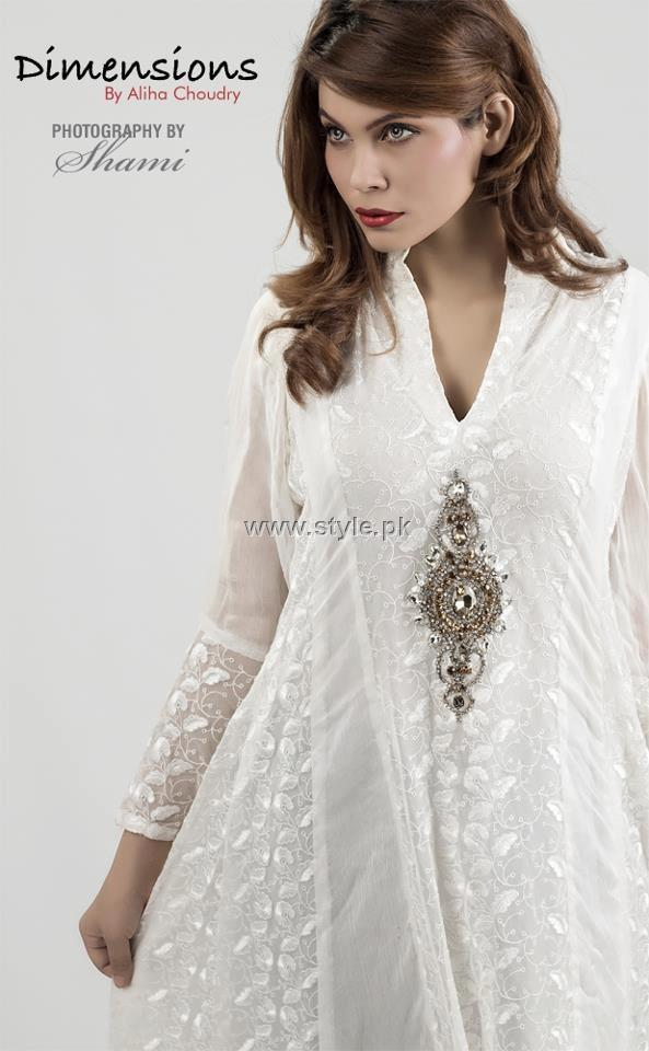Dimensions by Aliha Chaudry Eastern Wear Collection 2012