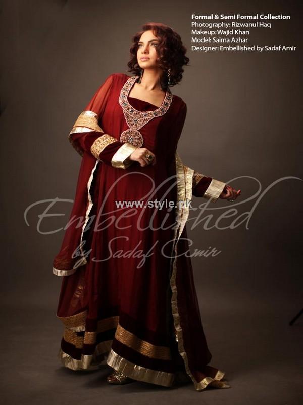 Embellished by Sadaf Amir Fall Collection 2012