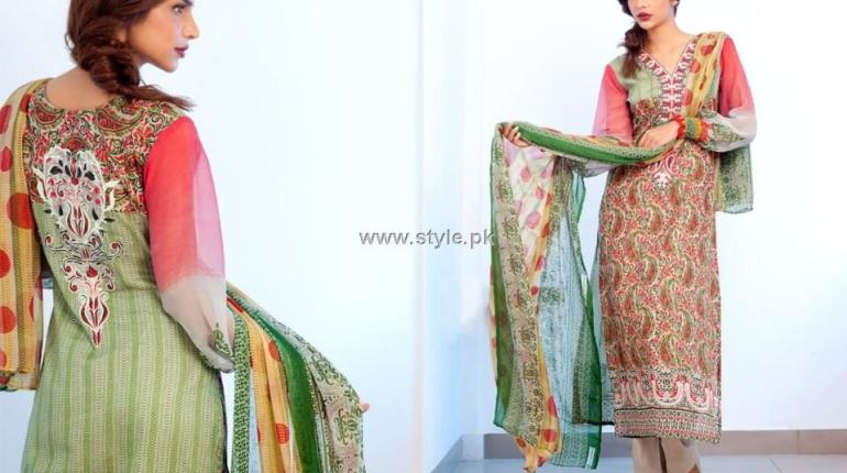 Feminine Embroidered Collection 2012 by Shariq Textiles