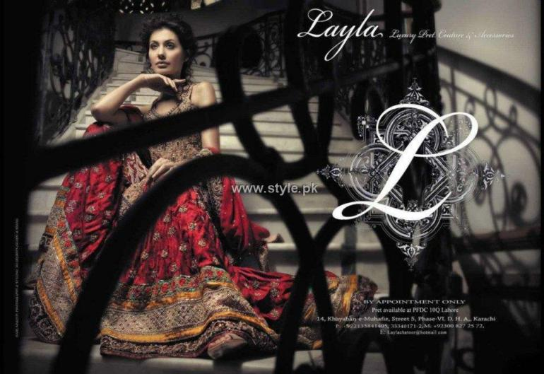 Layla Chatoor Bridals 2012 Collection for Women