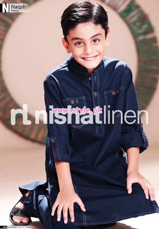 Nishat Linen Kids Wear 2012 Collection For Winter