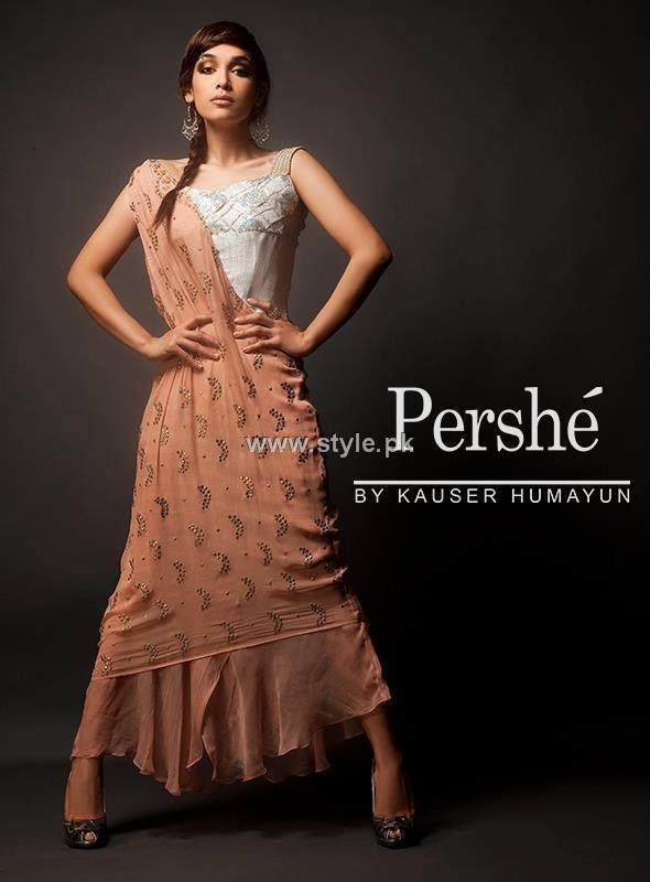 Pershe by Kauser Humayun Pret Collection 2012