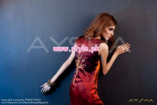 Aysha Anees Latest Winter 2012 Collection For Women 003