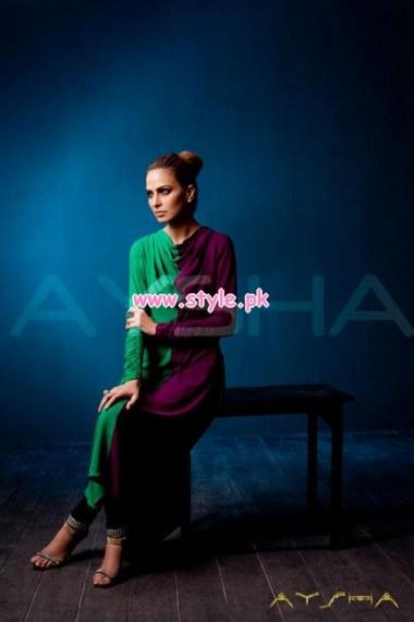 Aysha Anees Latest Winter Dresses For Girls 2012-13 009