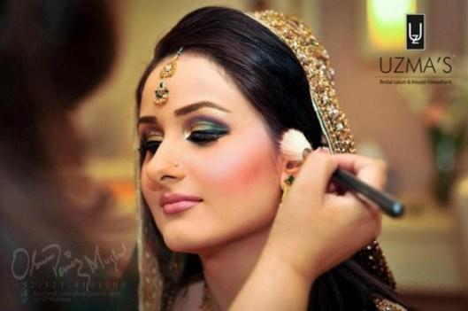 Bridal Makeover By Uzma Bridal Salon 006