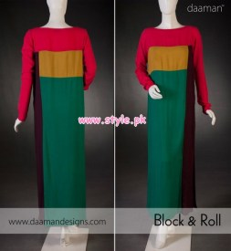 Daaman Latest Winter Arrivals 2012 For Women 007