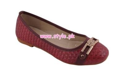 Gul Ahmed Latest Winter Foot Wears For Women 2012 011