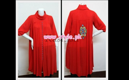 Kashish Latest Casual Wear Dresses For Winter 2012 002