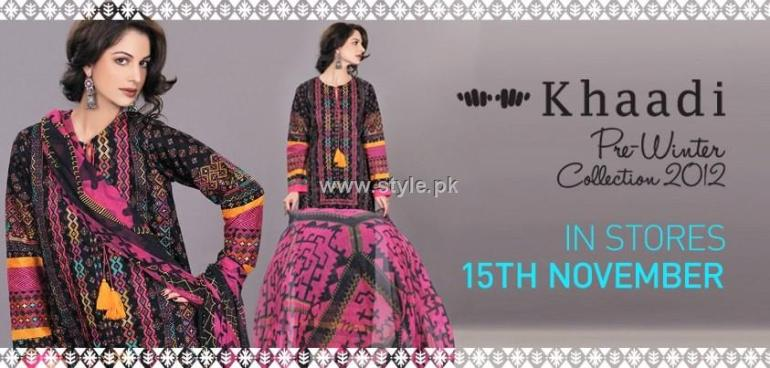 Khaadi Pre-Winter Collection 2012 for Women