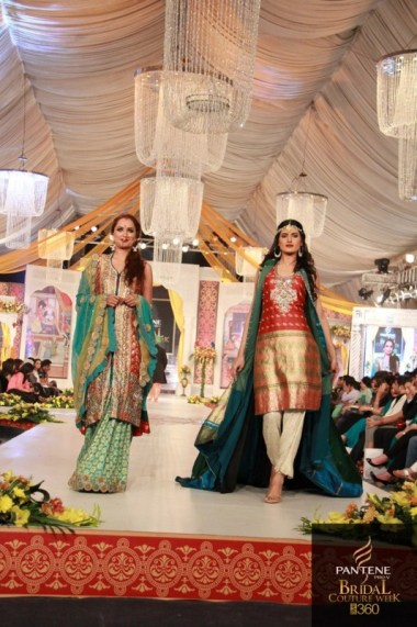 Kuki Concepts Collection At Pantene Bridal Couture Week 2012 003