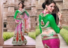 Latest Bridal Saree Trends 2012 For Women 008