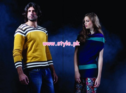 Latest Forecast Winter Casual Dresses For Men & Women 2012 006