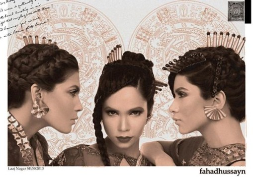 Fahad Hussayn Formal Wear Collection 2012-2013 For Women 001