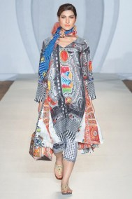 Gulabo Western Collection 2012 At PFW3, London 005