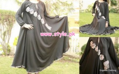 Latest Engrave Winter Party Dresses 2013 For Women 004
