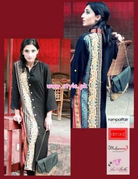 Latest Winter Casual Dresses By Abraaj 2013 017
