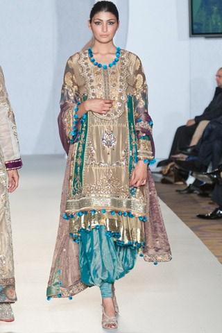 Sadia Mirza Formal Wear Collection 2012-2013 At PFW 3, London009