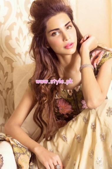 Sehrish Latest Wedding Wear Dresses For Women 2013 006