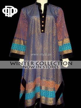 Deepak Perwani Winter Collection 2013 for Ladies 007