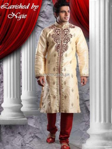 Designs of Sherwani for Men 2013 008