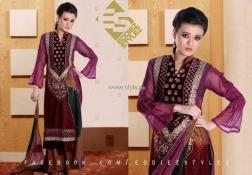 Eddiez Stylez Party Wear Collection 2013 for Women 003