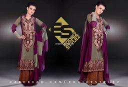 Eddiez Stylez Party Wear Collection 2013 for Women 008
