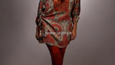 Shamaeel Ansari New Winter Dresses 2013 for Women