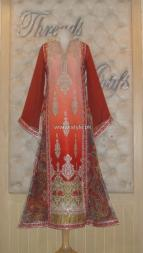 Threads and Motifs New Embroidered Dresses 2013 for Ladies 013