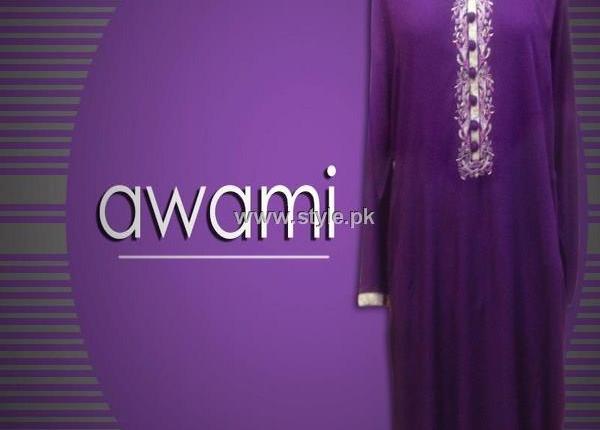 Awami Casual Wear Collection 2013 for Women by Amir Adnan