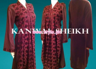 Kanwal Sheikh Party Wear Collection For Women 2013 003