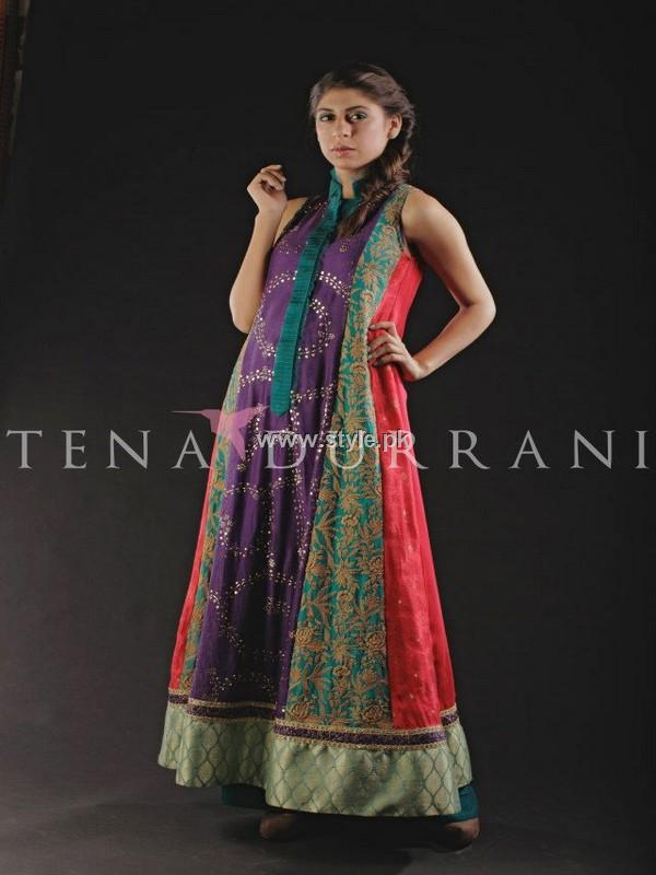 Tena Durrani Party Wear Dresses 2013 for Women
