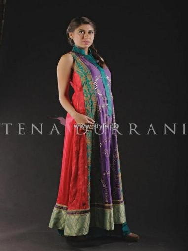 Tena Durrani Party Wear Dresses 2013 for Women 010