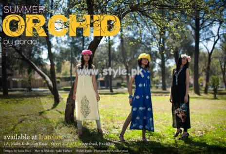 Abraaj Orchid Summer Collection 2013 For Girls 005