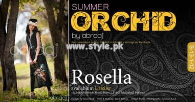 Abraaj Orchid Summer Collection 2013 For Girls 006