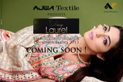Ajwa Textile Daisy Laurel Collection 2013 003