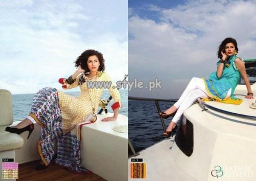 Bashir Ahmad Textiles Summer Collection For Women 2013 012