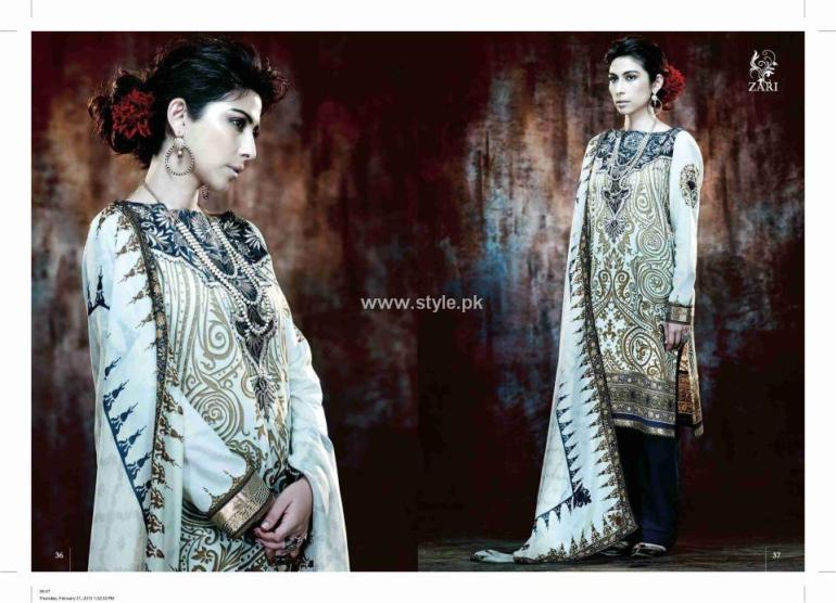 Five Star Textiles JJ Valaya Lawn 2013 for Women