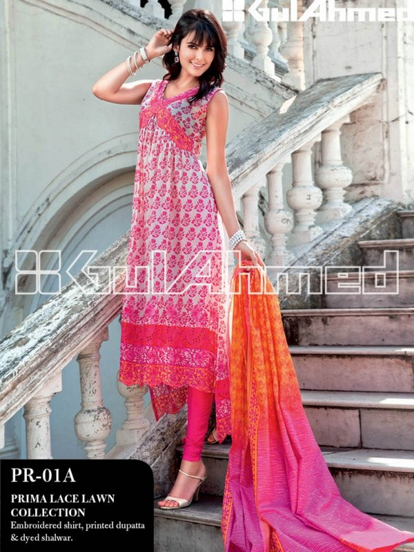 Gul Ahmed Lawn 2013 Collection for Women
