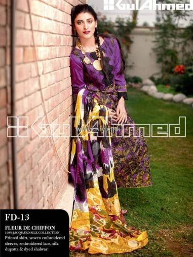 Gul Ahmed Lawn 2013 Collection for Women 015