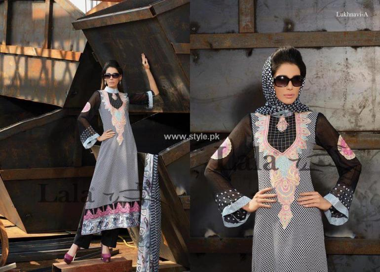 Lala Brocade Summer Collection 2013 for Women