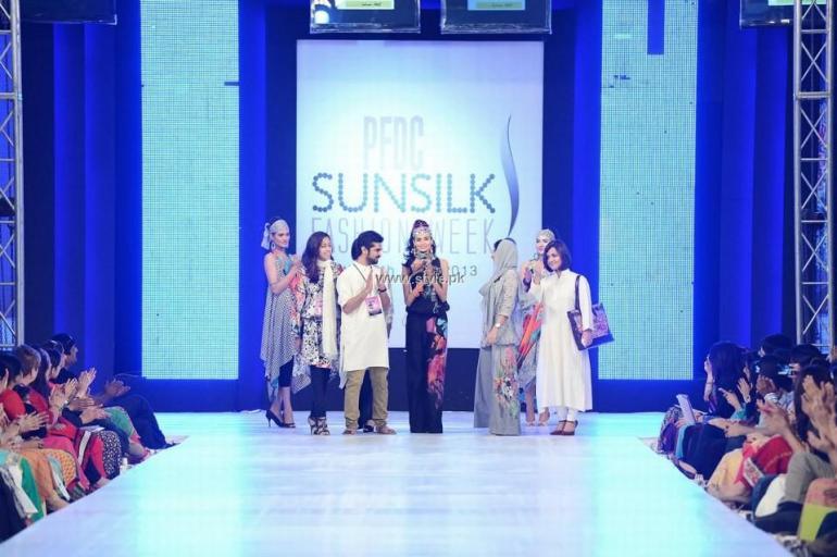 ChenOne Pareesa Lawn 2013 at PFDC Sunsilk Fashion Week