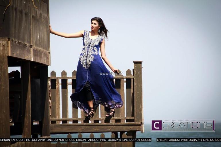 Creations New Summer Dresses 2013 for Girls