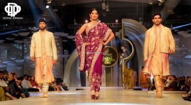 Deepak Perwani Bridal Collection at BCW 2013 006