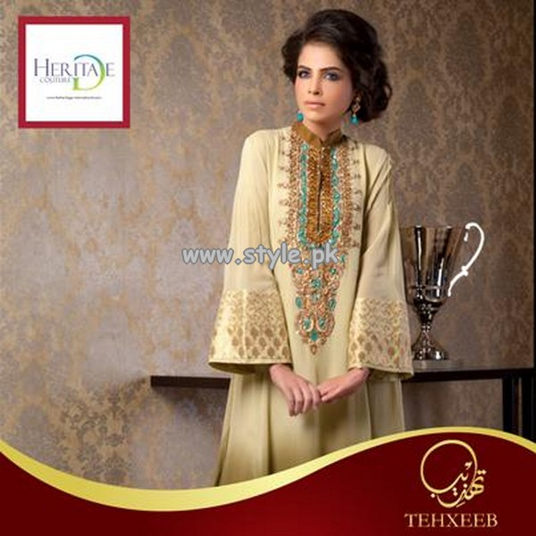 Heritage Couture Summer Collection 2013 For Women 007