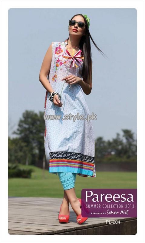 Pareesa Women New Arrivals For Summer 2013 012