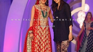 Sana Abbas Bridal Collection at BCW 2013