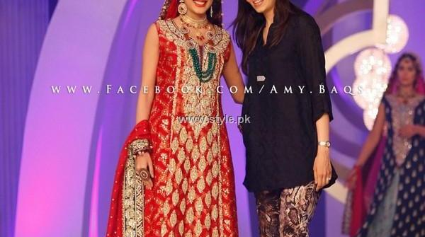 Sana Abbas Bridal Collection at BCW 2013