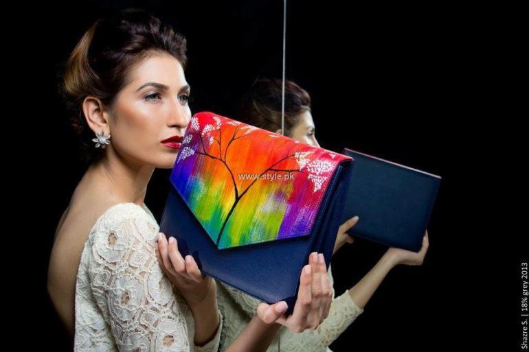 Sidra Nasir Handbags Collection 2013 for Women