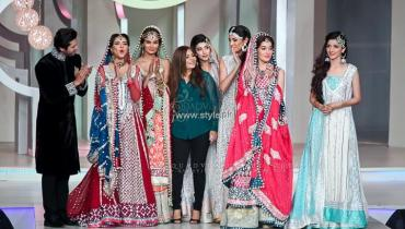 Zainab Chottani Bridal Collection at BCW 2013