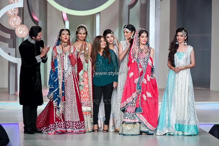 Zainab Chottani Bridal Collection at BCW 2013